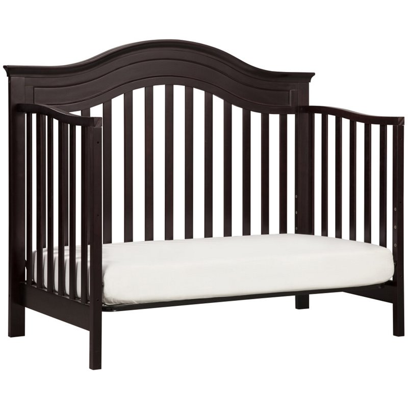 Davinci Brook 4 In 1 Convertible Crib With Toddler Rail In