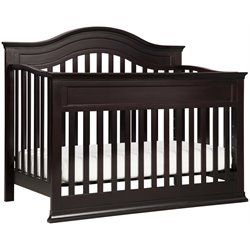 Brook 4-in-1 Convertible Crib with Toddler Rail