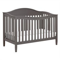 Laurel 4-in-1 Convertible Crib with Toddler Rail