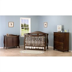 Parker 4 in 1 Convertible Crib