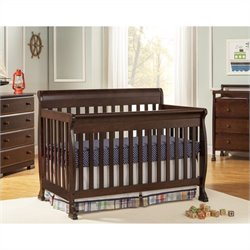 Kalani 4-in-1 Convertible with Crib Mattress