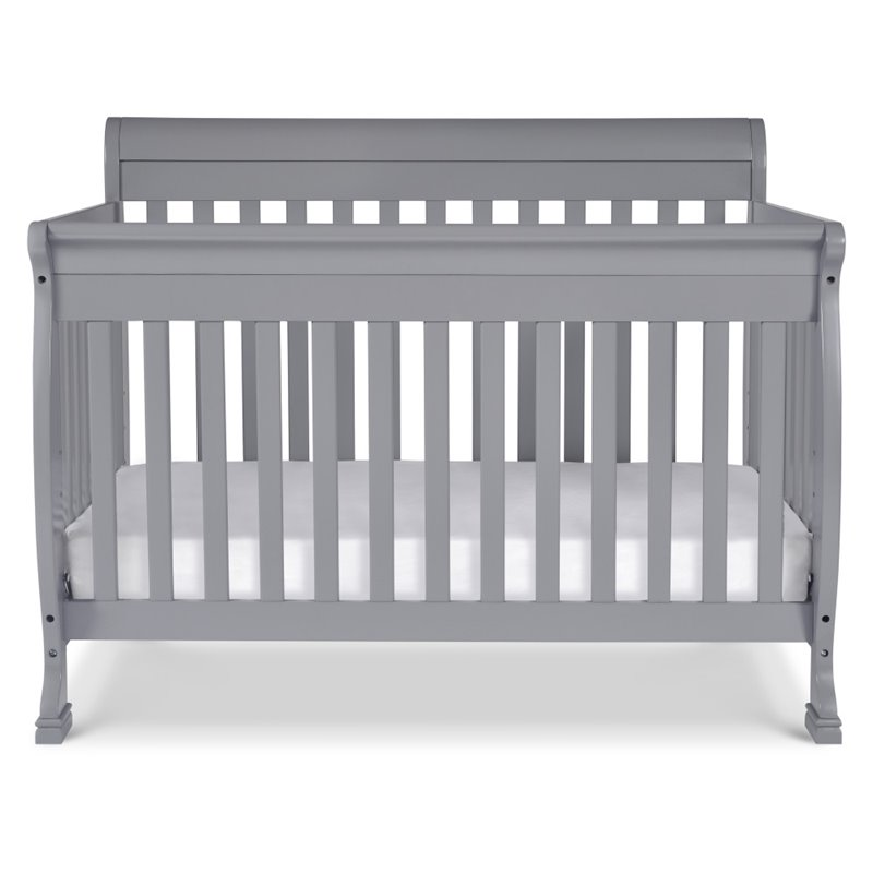 Davinci kalani 4 in 1 convertible crib with bed conversion for Rock n roll baby crib set