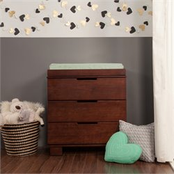 Modo 3-Drawer Wood Changing Table w/ Tray