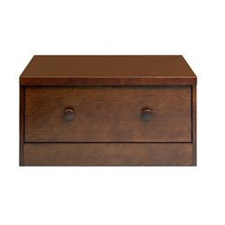 Babyletto Storage Unit Base Wood Drawer in Espresso
