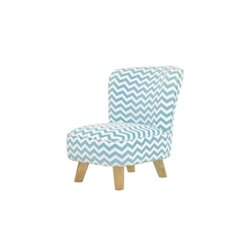 Babyletto Pop Mini Chair in Chevron Blue