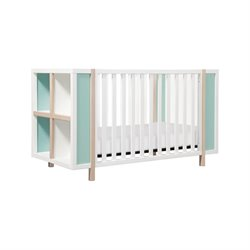 Babyletto Bingo 3-in-1 Convertible Crib and Storage Combo