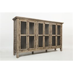 Jofran Rustic Shores Accent Chest in Vintage Gray