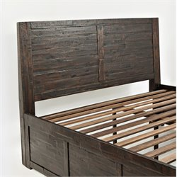 Jofran Jackson Lodge Youth Panel Headboard in Chocolate