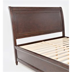 Jofran Avignon Youth Panel Headboard in Birch Cherry