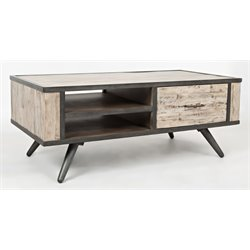 Jofran American Retrospective Coffee Table in Gray Wash