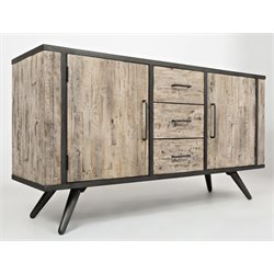 Jofran American Retrospective Sideboard in Gray Wash