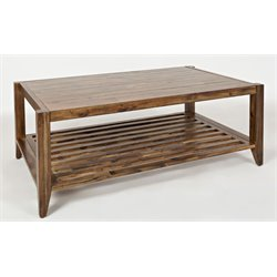Jofran Beacon Street Coffee Table in Light Brown