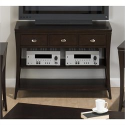 Jofran 629 Series TV Stand / Sofa Table in Manhattan Espresso