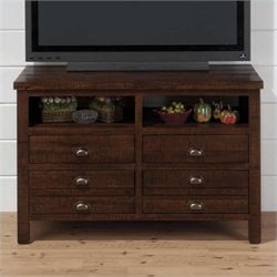 Jofran TV Stand in Brown