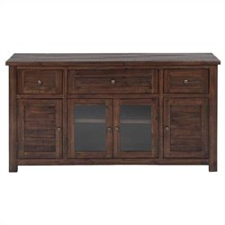 Jofran Storage TV Console in Urban Lodge Brown Finish