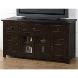 Jofran 820 Series Media Cabinet in Dark Roast