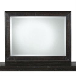 Jofran Prospect Creek Landscape Mirror in Dark Wood