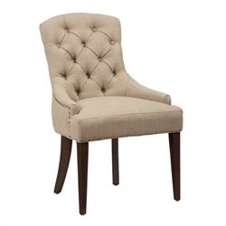 Jofran Geneva Hills Wood Upholstered Dining Chair