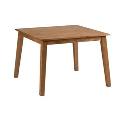 Jofran Simplicity Wood Square Dining Table in Honey