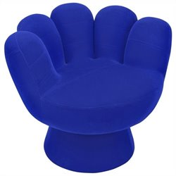 Lumisource Mitt Chair in Blue