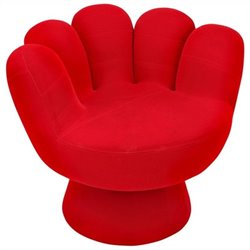Lumisource Mitt Chair in Red