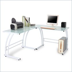 Lumisource Gamma Computer Workstation in White