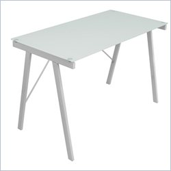 Lumisource Exponent Office Desk in White
