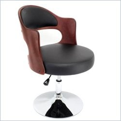 Lumisource Cello Chair in Cherry and Black