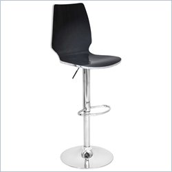 Lumisource Danata Bar Stool in Black
