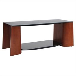 Lumisource Ladder Coffee Table in Wenge and Black