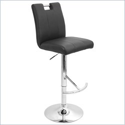 Lumisource Bar Stool in Black