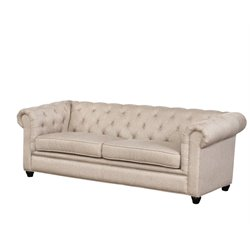 Abbyson Living Sebastian Sofa in Taupe