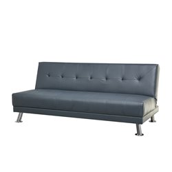 Abbyson Living Sheila Bonded Leather Convertible Sleeper Sofa-SH3