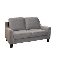 Abbyson Living Penton Loveseat in Gray