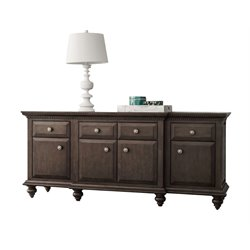 Abbyson Living Breckenridge Sideboard in City Gray