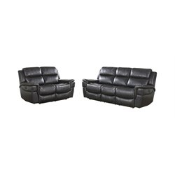 Abbyson Living Tallia 2 Piece Power Reclining Sofa Set