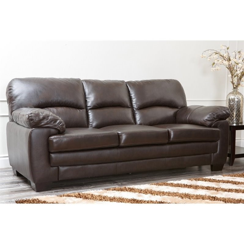 living room sofa sets abbyson living lalia 3 piece leather sofa set