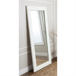 Blaketon Leather Floor Mirror