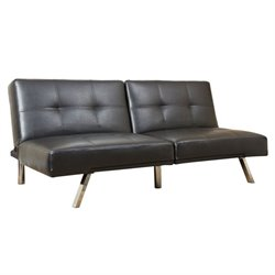Jakarta Leather Convertible Sofa