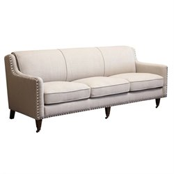 Abbyson Living Monica Pedersen Sofa in Gray