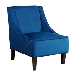 Abbyson Living Carlton Fabric Accent Chair