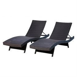 Redondo Outdoor Wicker Chaise