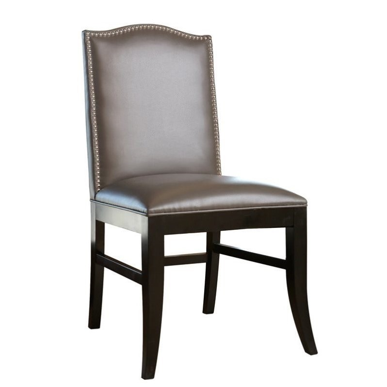 Gray Leather Dining Room Chairs Intercasherinfo – Gray Leather Dining Room Chairs