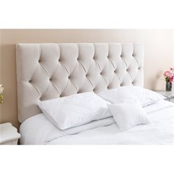 Abbyson Living Dakota Queen Full Tufted Headboard