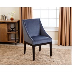 Abbyson Living Mcqueen Curved Dining Chair