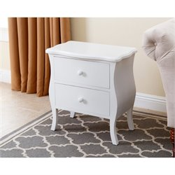 Abbyson Living Bellini 2 Drawer Nightstand