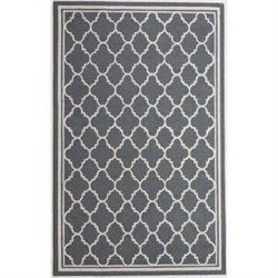 Abbyson Living New Zealand Wool Rug in Slate Gray