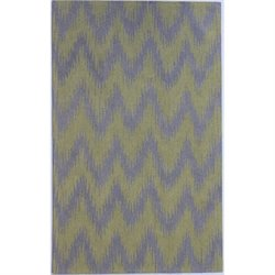 Abbyson Living New Zealand Wool Rug in Gray