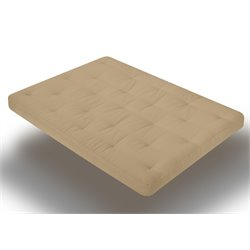 Futon Mattress in Khaki
