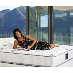 Plush Twin Size Mattress in White